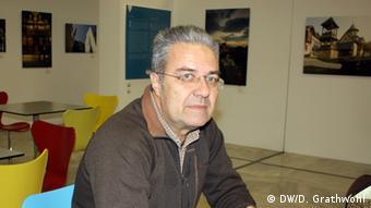 Theo Marinidis, Augenarzt, Foto: Daphne Grathwohl