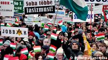 Ungarn Budapest Demonstration Jobbik Rede