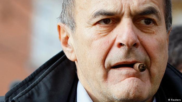 Italian political leader Pier Luigi Bersani REUTERS/Alessandro Garofalo