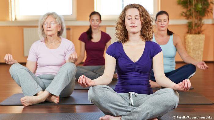 Symbolbild Yoga Entspannung Meditation