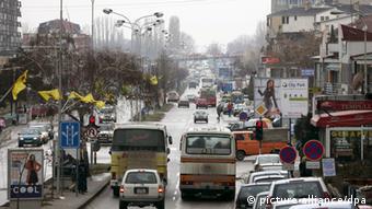 Die kosovarische Hauptstadt Pristina (Foto: dpa)
