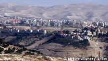 Israel Siedlungsbau Jerusalem Siedlung Maale Adumim
