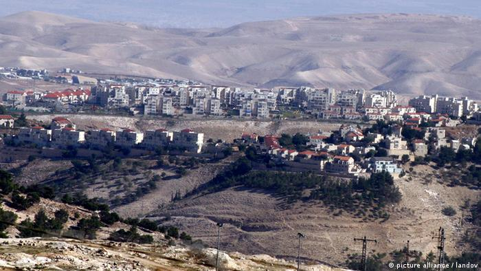 The Jewish settlement of Maale Adumim near Jerusalem (Photo: Mahfouz Abu Turk APA /Landov)