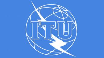 Das Logo der Internationalen Fernmeldeunion ITU