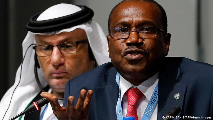 Hamadoun Toure, Secretary-General of the International Telecommunication Union (ITU), speaks during a press conference at the World Conference on International Telecommunications (Photo: KARIM SAHIB/AFP/Getty Images)