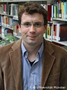 Markus Wilp, Politologe und Soziologe der Westfälischen Wilhelms-Universität Münster im Zentrum für Niederlande-Studien Copyright: Universität Münster