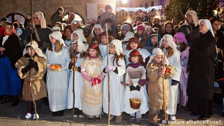 Nativity play (picture alliance/Pixsell)
