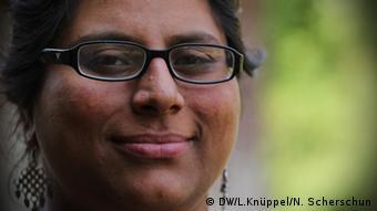 Rachna Dhingra in Bhopal Copyright: Leila Knüppel/Nicole Scherschun