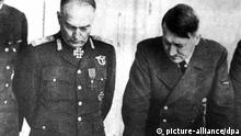 Ion Antonescu bei Adolf Hitler