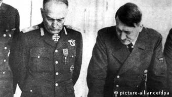 Ion Antonescu with Hitler