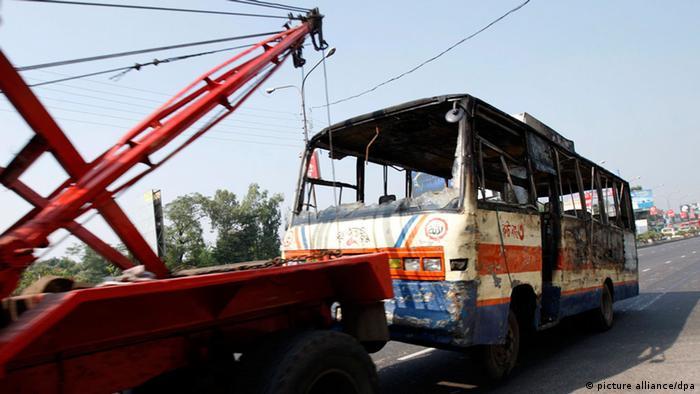 Bangladesch Dhaka Islamisten Generalstreik