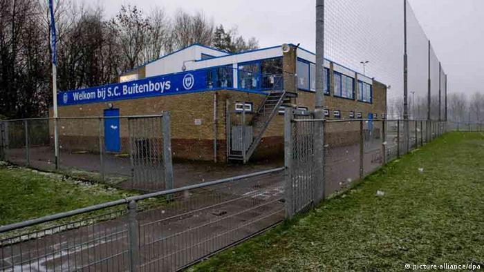Vereinsheim des SC Buitenboys in Almere in den Niederlanden (Foto: dpa)