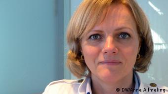 Regine Günther (Photo: DW/Anne Allmeling)