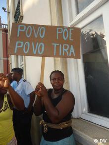 Povo põe povo tira palavra de ordem mais ouvida nos recentes protestos em São Tomé