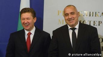 Bulgarien Russland Gazprom
