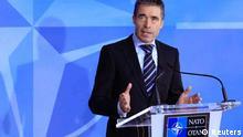 Brüssel NATO-Außenministertagung Anders Fogh Rasmussen