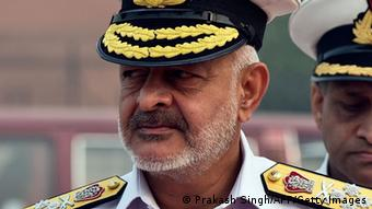 Indiens Admiral Joshi (Foto: PRAKASH SINGH/AFP/Getty Images)