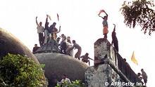 Bildergalerie 20 Jahre nach dem Herabreißen der Babri-Moschee
