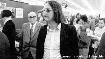Peter Handke, at the Frankfurt Book Fair in 1973