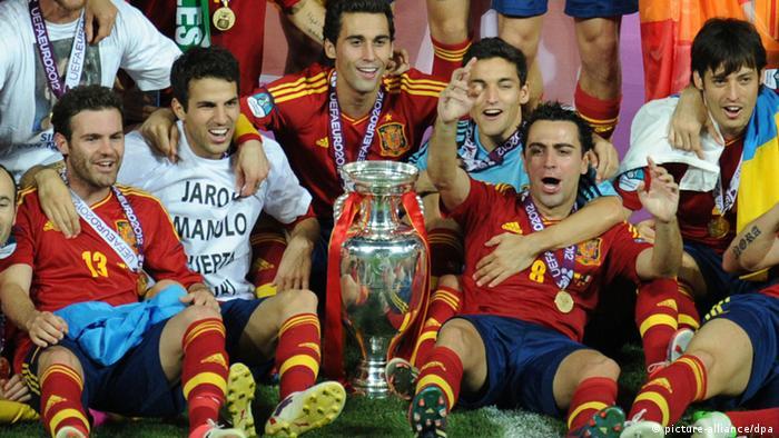 UEFA EURO 2012 Spanien Italien Juli 2012