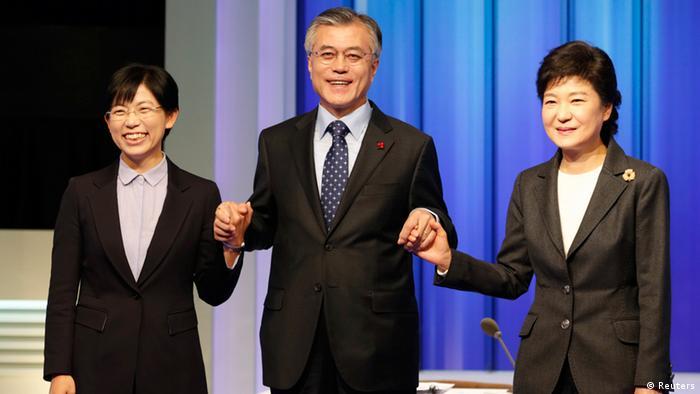 Südkorea Wahlkampf Präsidentschaftswahlen (Reuters)