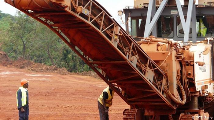 La Guinée est l'un des premiers producteurs mondiaux de bauxite.