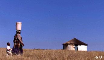 Wasserknappheit in Afrika - Panorama