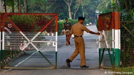 Symbolbild Grenze Indien Bangladesh (AFP/Getty Images)