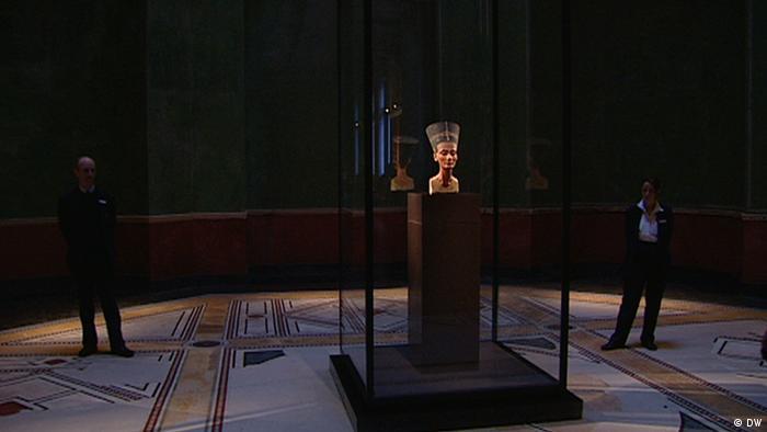 Нефертити в Египетском музее в Берлине