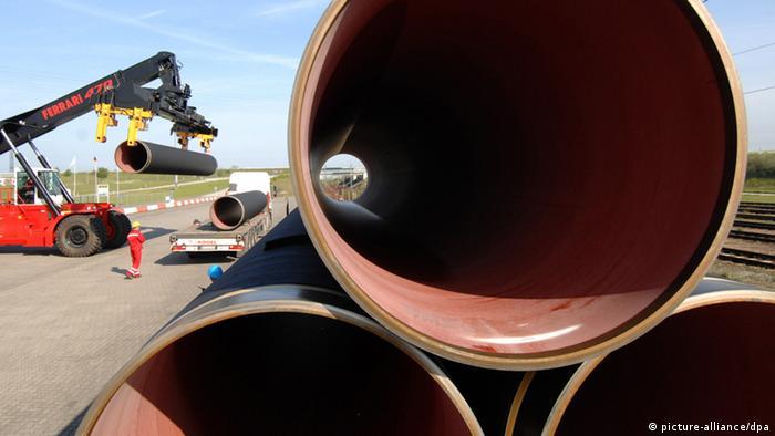 Ostsee Gazprom Pipeline