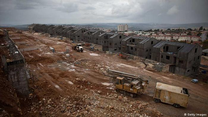 Siedlungsbau Israel (Getty Images)
