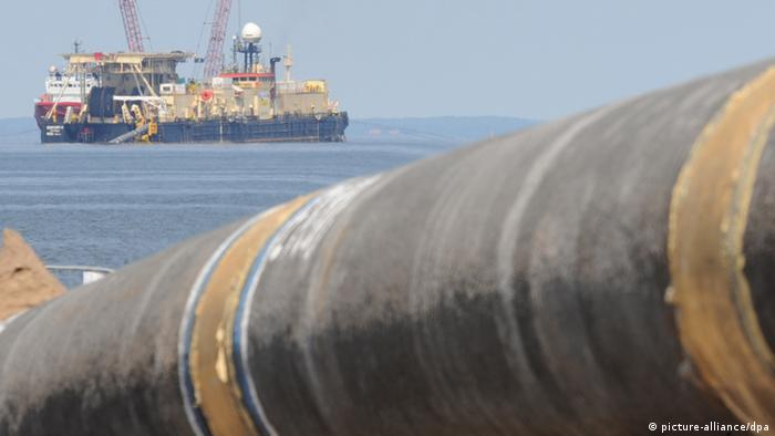 Трубопровод у Балтийского моря