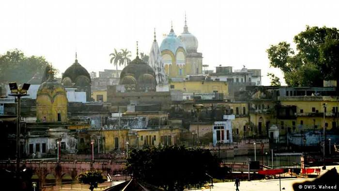 A general view of the town Ayodhya in Indian state of Uttar pradesh (Photo: DW/Suhail Waheed)