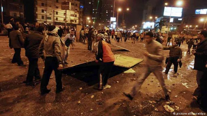 Proteste in Ägypten gegen Präsident Mursi
