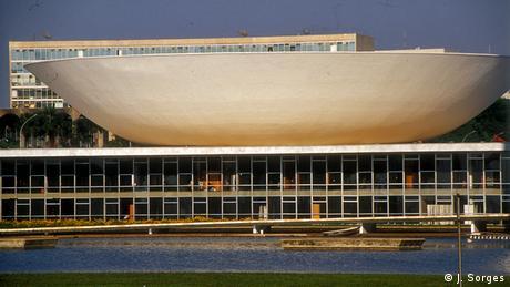 Brasilien Land und Leute Brasilia Parlament