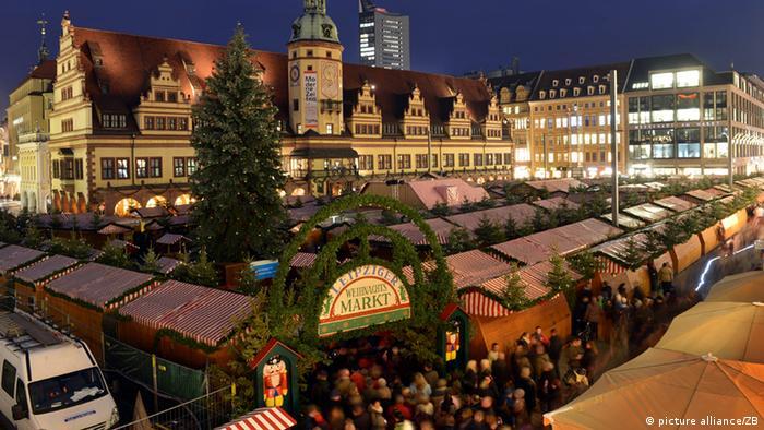 Weihnachtsmarkt in Leipzig