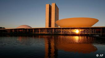 Brazil's National Congress building Photo:Eraldo Peres, File/AP/dapd