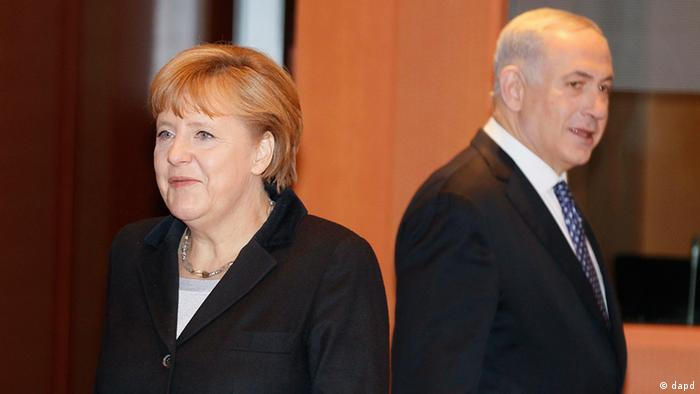 Israeli Prime Minister Benjamin Netanyahu and German Chancellor Angela Merkel in Berlin on Thursday December 6, 2012.