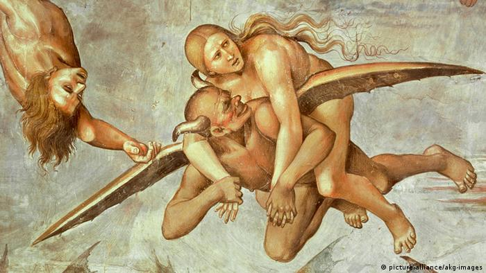 Ende der Menschheit Fresko von Luca Signorelli