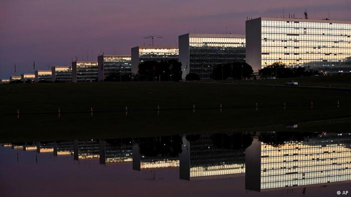 Oscar Niemeyer Architekt Ministerium und National Kongress Brasilia
