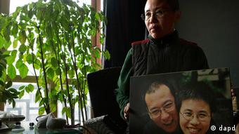 China Menschenrechte Liu Xia Frau von Liu Xiaobo Friedensnobelpreis 2010