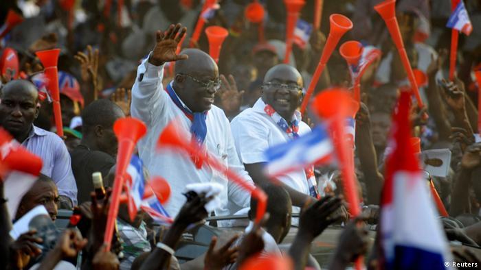 Ghana Wahlkampf