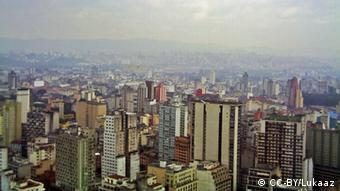 Sao Paulo skyline Picture: Lukaaz, Source: Wikipedia