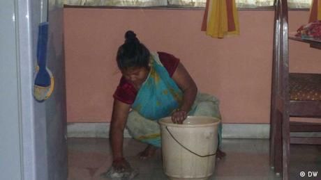 Haushalthilfe in Indien