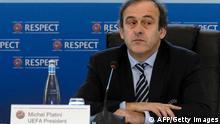 Michel Platini UEFA EM 2020