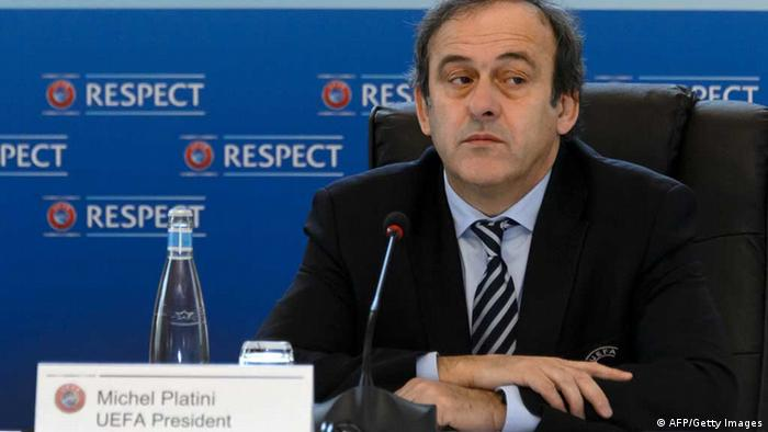 UEFA-Präsident Michel Platini. (Foto: Getty Images)