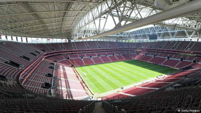 Blick in das leere Stadion von Galatasaray Istanbul (Foto: Bulent Kilic/EuroFootball/Getty Images)