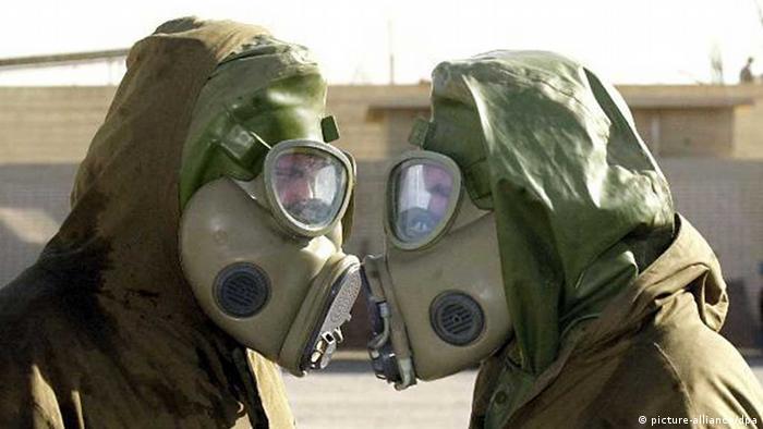 Osobe s plinskim maskama