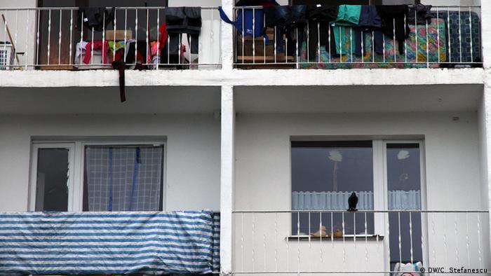 Жилищен блок в дуисбургския квартал Марксло