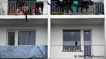 An apartment building in Germany where Roma live. (Photo: DW/C. Stefanescu)